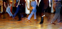 Line Dancing at the Big Apple Ranch